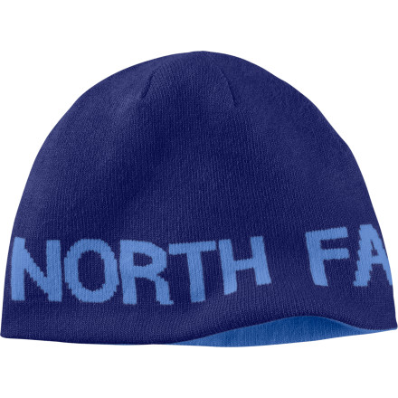 Fitness Fly down the skate track wearing your The North Face Reversible TNF Banner Beanie. After a near hit-and-run with a clueless Retriever (aren't they all') flip it over for a new look and make a clean getaway. - $16.22