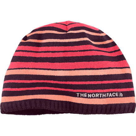 When you have The North Face Rocket Beanie tucked into your pocket, you'll never get caught with cold ears or a steaming head. Pull it out when you stop moving or when the temperatures drop; this festive striped acrylic hat's inner microfleece earband provides extra warmth where you need it most. - $13.17