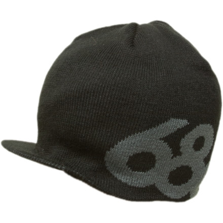 It's too late, they've already dropped the bomb. Good thing you have the 686 Icon Visor Beanie to shade the blast while the planet gets scorched by it's most evil and advanced species. - $20.00
