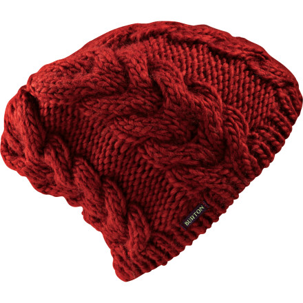Snowboard If you cover the Women's Pancake Beanie from Burton in maple syrup and butter it'll make a sticky mess. But if you cover your head with the Pancake Beanie you'll have toasty ears while you're walking to breakfast on a cold winter morning. - $17.37