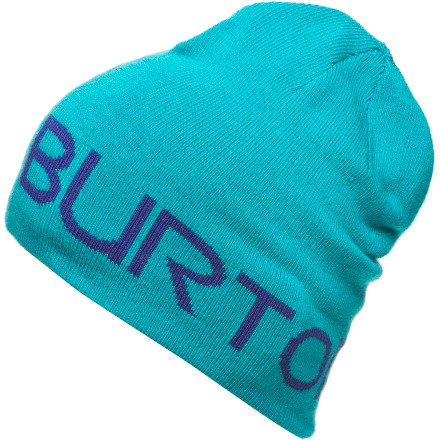 Snowboard Throw on the Burton Women's Up On Lights Beanie, grab your board, and head out for a midnight street sesh. - $14.97