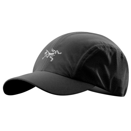 Fitness Toss on the Arc'teryx Accelero Baseball Hat and head out for a trail run. The Accelero has mesh side panels that ventilate your melon as you work up a sweat. - $28.95