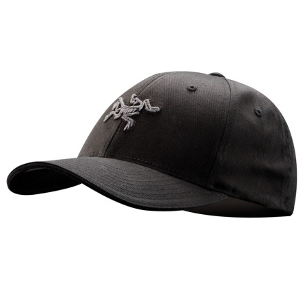 Camp and Hike When you're forced to interact with the rest of society between backcountry getaways, the Arc'Teryx Embroidered Bird Baseball Hat shows love to your favorite technical-clothing brand. Contrast colors spice up the embroidery on the front of this low-profile lid. - $28.95
