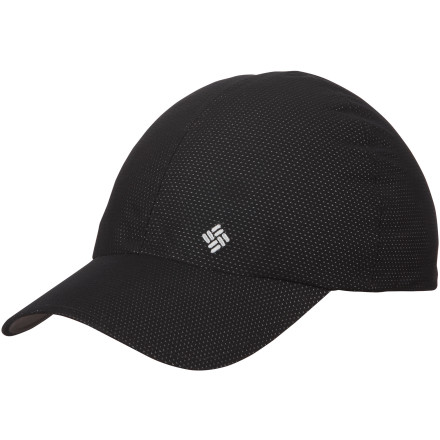 Sports The Columbia Flyin' Dry Cap's ultra-light, wind-resistant material fends off moisture and offers protection whether you're a few miles from home or seeing the sights of a foreign land. - $15.98