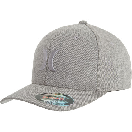Surf Slide the Hurley One And Textures Hat over your head, walk up to the next person you see, and punch them right in the back of their stupid head. - $29.45