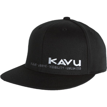 Camp and Hike Make sure you put on your Kavu BFF Hat before you emerge from your tent in the morning. Otherwise, your camp mates might see your insane hair and mistake you for an attacking alien. - $14.98