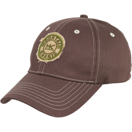 Flyfishing Grab the Mountain Khakis Freyed Patch Stretch Twill Hat before you meet the boys for some fly fishing. This cotton chino twill hat fits your head like no other, and has a stretchy, comfortable fit that delivers low-profile class. - $12.97