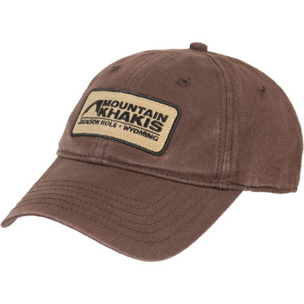 Sports You have the clothes, the gear, the food, and the heart for the mountains. Now all you need is the Mountain Khakis Soul Patch Hat to top it off. - $19.95