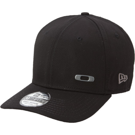 Sports If you like the styling and fitted design of New Era hats but prefer a more classic baseball-inspired look over the modern flat brim, then you'll like the Oakley Metal Square O Hat. The small, offset metal O is enough to show what brand you rely on to cover your body and shield you eyes whether your passion lies on water, in the mountains, or on the links. - $30.00