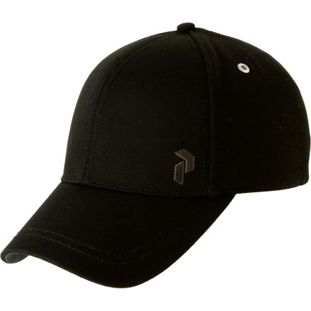 Golf No need to worry if you don't have the scratch for a spiffy new golf duds for this season. Just park the bright, poppy Peak Performance Outdoor Hat on your head for an instant outfit upgrade. - $15.98