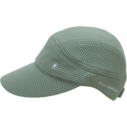 Fitness When youre running around like a mad dog in the midday sun, protect yourself from burning rays with the Sunday Afternoons Sprinter Cap. This lightweight, baseball-style cap helps you keep your cool in the heat, and youll appreciate the moisture-wicking sweatband when the perspiration really begins to pour. An extra-wide 3.5-inch brim and UPF 50+ fabric protect your tender skin from the sun, and an adjustable hook-and-loop strap on the back gets the fit just right. - $13.17
