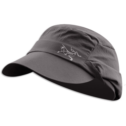 The Sahara may seem like a great place to visit, what with its drifting mountains of sand, but without the Arc'teryx Spiro Hat and lots of water, you might want to just stay in Cairo. Since this cap features a fold-down neck flap and dries quickly to keep you cool, you can shelter yourself from the intense sun while you comfortably discover yourself amid the lifeless abyss. - $38.95