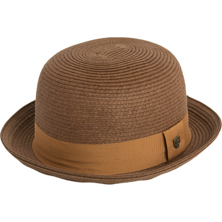 The Brixton Pack Hat offers a delightful fusion of bowler meets sun hatkind of like a smoothie of vintage-inspired awesomeness. - $33.96