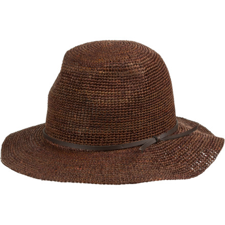 A girl can always use a little glamor, and everyone can use a little more protection from the sun. The Brixton Women's Marlow Sun Hat shades you in style so you can lounge about soaking up admiring glances without soaking up UV rays. - $49.17
