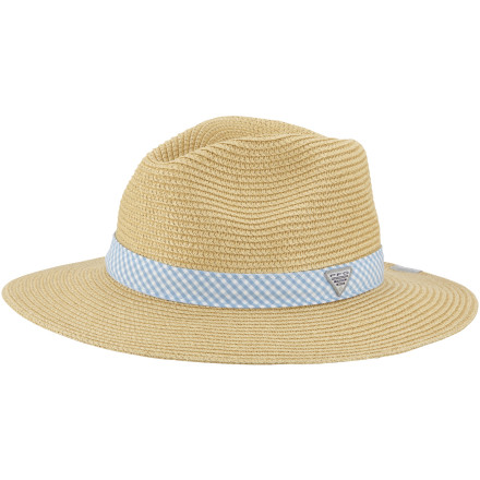 Camp and Hike Don't end up like those dried-up lizards you see during your desert hike, slip on the Columbia PFG Bonehead Straw Hat to keep you cool and out of the sun's harsh rays. - $29.37
