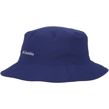 When sun and heat are in the forecast, you can trust the Columbia Silver Ridge Bucket II Hat's Omni-Shade technology to put up a barrier against harmful rays. The Omni-Wick sweatband will absorb moisture and move it away from your head ... that is, until you dunk the Silver Ridge Bucket II Hat into a cold stream for a shocking cool-down. Added Omni-Shield advanced repellency helps keep the hat free of soil, oil, and blood if things get messy on the trails. - $13.98