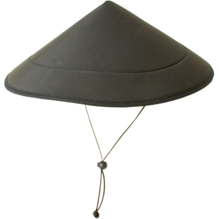 The Kavu Chillba Hat sure looks funny but you won't be laughing when you're using it to bail water out of your boat. DWR coated nylon repels water and the closed-cell foam makes it float so you can chase it down the river if you drop it in. - $44.95
