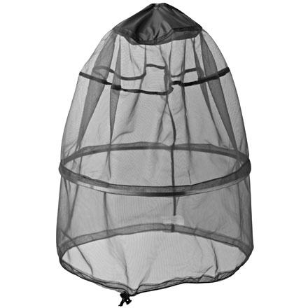 Wander serenely through insect infested swamps, along buzzing meadow trails, through gnat-filled forests with the Outdoor Research Deluxe Spring Ring Headnet. Fabricated entirely from no-see-um mesh, this bug blocker features a patented Spring Ring metal hoop that holds the mesh off your face but still folds compact for easy storage. The larger size of the Deluxe Spring Headnet accommodates wide-brim hats and OR sombreros. A drawcord neck keeps the flagrant fliers out, and the entire net stuffs conveniently into a built-in stuff sack. - $19.95
