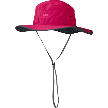 Camp and Hike Shield your face from the sun's rays with the Outdoor Research Women's Solar Roller Hat. UPF-30-rated protection protects your skin, while the TransAction mesh headband moves moisture away from your skin to keep you cool. - $17.48