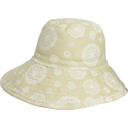 You want to enjoy the summer sun, but you won't want to look like a piece of leather in your later years. The prAna Women's Holly Sun Hat shields your face from the sun so you can spend all the time outside you want to without sacrificing your skin. Plus, this hat packs a summery sense of style that will energize your warm-weather wardrobe. - $17.48