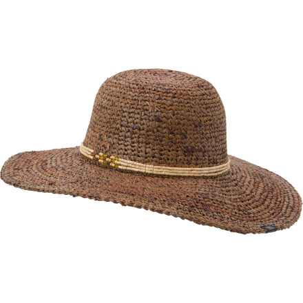 Entertainment You've staked a perfect spot next to the pool, and you can already hear the cabana boy blending your daiquiri. All that's left is to put on our prAna Women's Mindy Sun Hat, your sunglasses, and sunscreen. - $24.98
