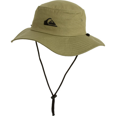 Surf Shade those baby blues with the Quiksilver Mens Original Bushmaster Hat. Whether youre hunting wildebeest on safari or just chillin at the beach youll enjoy this hats wide brimmed protection. - $26.00