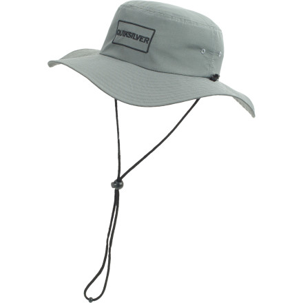 Surf George Washington Carver once made a phonograph needle out of a peanut. The Quiksilver Djay Peanut Sun Hat commemorates this world-changing achievement. - $26.00