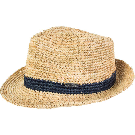 Surf Wear the Roxy Women's Witching Hat and add a little shade to your day. This laid-back straw hat is great for beach days when you want some protection from the sun or those times when your outfit needs a little something extra to make it pop. - $22.10
