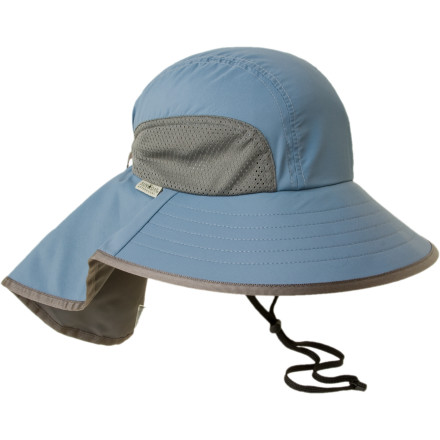 Slide your melon into the Sunday Afternoon Adventure Hat for ultimate sun protection and hot-weather comfort. The Adventure Hat features UPF 50 fabric, and gives you a full 360 degrees of solar blockage. The Adventure Hat also boasts mesh side panels and an interior moisture-wicking sweat band for truly sweltering days. Cinch it down to a custom fit with the adjustable slide strap, and head outside. - $37.95