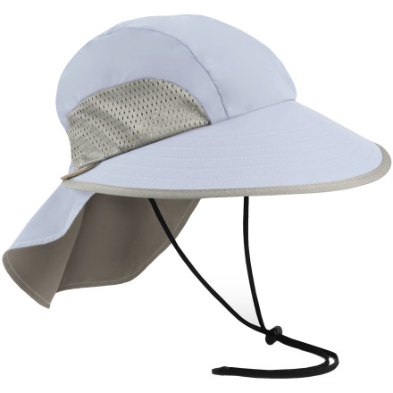 Camp and Hike Pop on the Sunday Afternoon Sport Hat when the sun's beatin' down and there's no cover in sight. This UPF 50 hat repels UV rays and painful sunburns. Don't be fooled by the ultralight low-profile design it still gives you plenty of coverage with a full-crescent, four-inch brim, and a five-inch rear neck veil. Stuff the Sport Hat into your pack or pocket for travel or hiking trips, and get a custom fit with the adjustable strap. - $34.95
