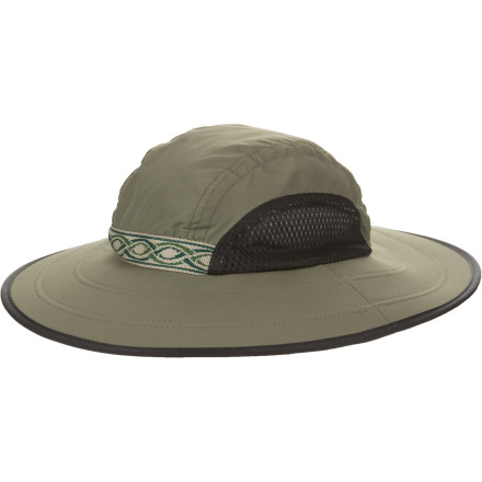 Sure, the sun is good for plants and things, but it really isnt that great for your skin. The Sunday Morning Field Hat blocks harmful UV radiation so your face stays safe. Lightweight Sun fabric is comfortable, and the mesh sides let fresh air in so even on the hottest days, your head will feel good. - $38.95