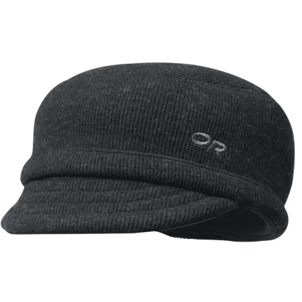 The wool/nylon blend of the Outdoor Research Exit Cap ensures you stay warm and comfortable when you get outta dodge. - $30.95