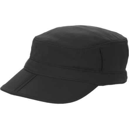 Because of its UPF-50-rated fabric, the Sunday Afternoons Sun Tripper Cap protects your bald spot (or thick, luxurious hair) and face from the suns harmful rays. The Sun Tripper features a folding brim so you can stash this cap in your back pocket when you dont need it. Mesh venting panels and a wicking sweatband help you stay dry and coolheaded on hot days. A crown pocket holds a credit card and ID or a secret treasure map. - $25.95