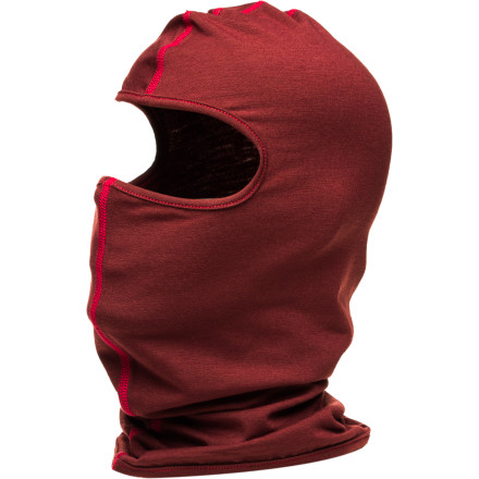 Revealing only the area between a moustache and eyebrows to your victims, the Airblaster Ninja Face Balaclava covers you in wicking 4-way stretch material so can throw shurikens and smoke bombs all over the mountain in complete anonymity. The lightweight Ninja Face Balaclava also keeps you warm. - $19.95