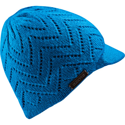 Snowboard The Women's Don't Toy With Me Beanie from Burton hides your bed head, so whoever bumps into you when you're wearing this hat will know not to #*@! with you. - $14.97