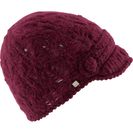 Entertainment Show off your unique style wherever you go with the Coal Women's Madison Visor Beanie. Whether you're rocking the Madison with your wool pea coat in the city or showing it off with your snowboarding jacket at the resort, this fuzzy acrylic cap sets you apart from the rest of the beanie-wearing masses. As an extra bonus, it keeps your head toasty, too. Imagine that. - $20.97
