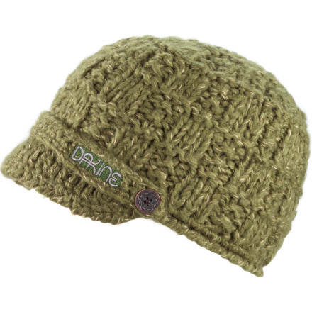 Ski Throw on the Dakine Women's Audrey Beanie before you brave the elements to go have a warm cup of joe with the girls. Yes, it's totally ironic that you have to get cold to get warm, but that's how it goes. - $35.00