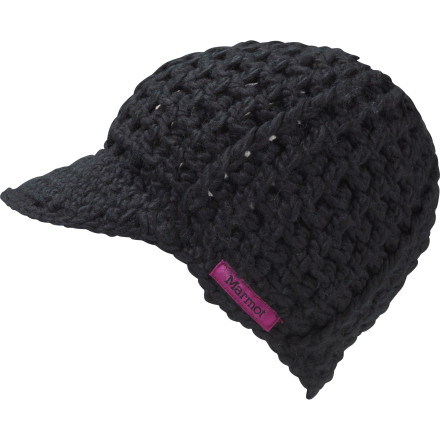 Not only does the Marmot Women's Incog Hat keep your head warm and comfy with its acrylic knit and a microfleece liner, but you can also drop the sun-shielding visor around your eyes when you want to avoid the pseudo-seductive stares of overly determined lifties. - $23.37