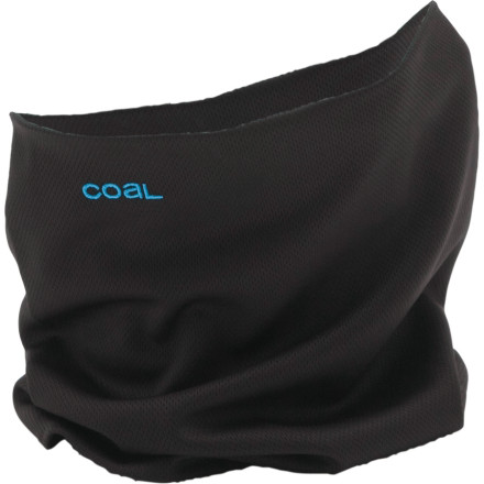 Entertainment Consider the moisture-wicking Coal M.T.N Neckwarmer the pinnacle of face- and mouth-covering technology. Lightweight and soft polyester wraps around your neck and over your nose so frostbite wont ruin your historically deep powder days with wind-scoured cheeks and a chill-blackened schnoze. - $13.97