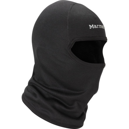 Marmots Driclime Lightweight Balaclava comes in handy when you want to feed your gravity addiction on those teeth-shatteringly cold days. Even if you arent bombing some downhill, the Driclimes lightweight, breathable fabric will keep you dry while Flat Lock Stitching ensures comfort under a helmet or hat. - $34.95