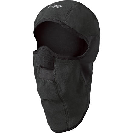 The Outdoor Research Sonic Balaclava uses a combination of WindStopper and Polartec Wind Pro fleece fabrics. Why use these two materials' Windproof WindStopper material blocks nasty weather and provides excellent warmth while the wind-resistant Polartec material over the ears allows you to still hear what's going on around you. - $39.95