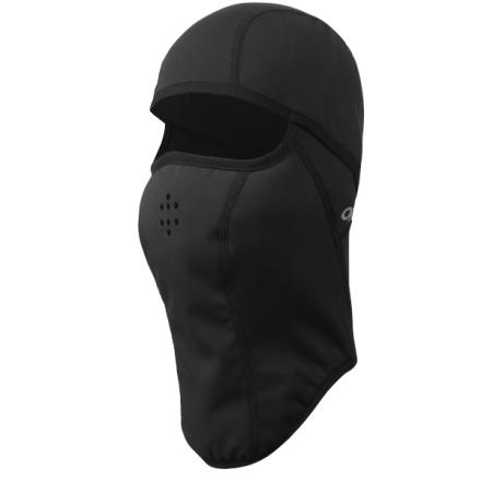 The Outdoor Research Helmetclava uses panels of different fabric so you get protection in the places where you need it most, and you get flexibility and useful things (like hear-ability) in the places where you don't. - $37.95