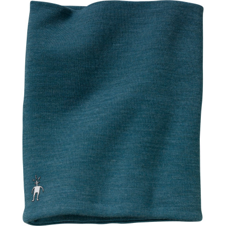Ski When the wind blows icy cold on the mountaintop, cover up with the SmartWool Neck Gaiter. Your neck and face will appreciate the softness and warmth of this double-layer gaiter. - $27.95