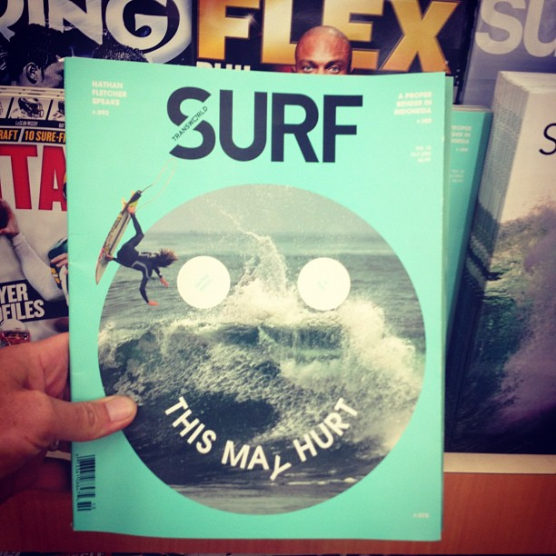 Surf New TWSurf has a cool cover.