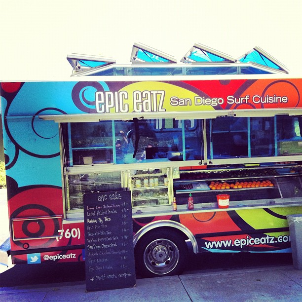 Surf One of our favorite food trucks @epiceatz What's your favorite food truck?