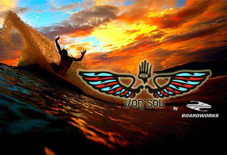 Surf Von Sol Surfboards by Surftech. Extreme performance and durability.http://bit.ly/QOiUmS