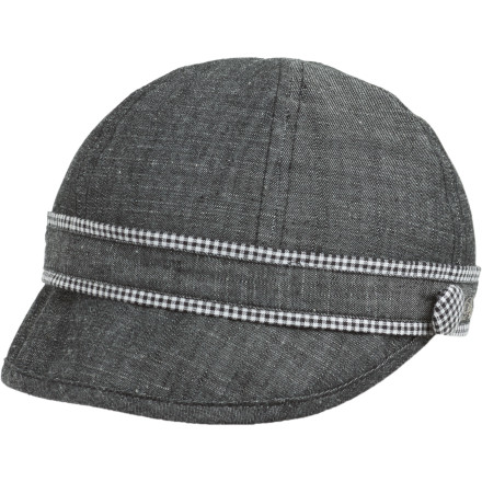 Sometimes, you get ready, and something feels wrong. Everything you're wearing is cute, but something is just missing, and you feel boring. The prAna Women's Clover Cadet Hat is the cherry on top than can take an outfit from blah to exciting. Wear this slim cadet hat when you need to instantly spice up your look without doing anything crazy. - $14.98