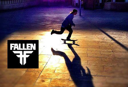 Skateboard Rise with the Fallen. http://bit.ly/N475eB Apparel and footwear.