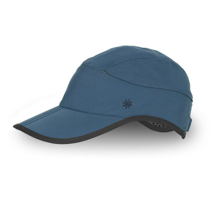 Camp and Hike An extra mile in the blazing summer sun won't fry your scalp with the Sunday Afternoons Women's Eclipse Baseball Hat capping your head. Thanks to moisture-wicking, breathable UPF 50 polyester fabric and flip-up mesh vents, your head stays cool and free from sunburn while you hike or run in direct sunlight. - $27.95