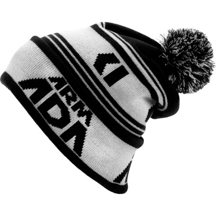 Ski The Armada Big Brand Pom Beanie won't help you figure out what trajectory pilot B will be on to land on runway F with a stiff 46mph wind out of the south-east. But this pom will keep your dome warm until you can get back on the slopes and forget all about math class for a few hours. - $16.77